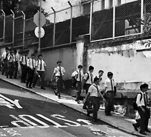 Schoolboys, Hong Kong by Cara Gallardo Weil