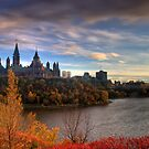 Fall colours - Ottawa, Ontario by Josef Pittner