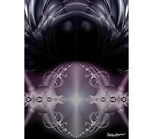 Indigo Crystal Ball Photographic Print