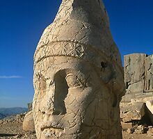 Mount Nemrut in central Turkey by Alex Cassels