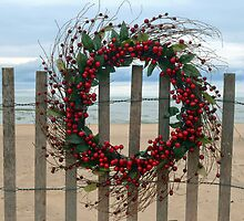 Christmas Wreath by Maria Dryfhout