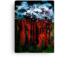 Deep In The Night Canvas Print