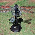 Dragonfly Sculpture by Julie Sherlock