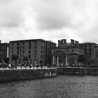 Albert Dock and Pump House, Liverpool by Peter  Thomas