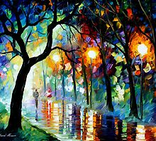DARK NIGHT - LEONID AFREMOV by Leonid  Afremov