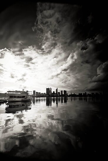 Perth City Skyline by Jill Fisher