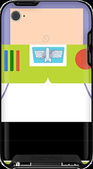 Buzz Lightyear Case by redastherose