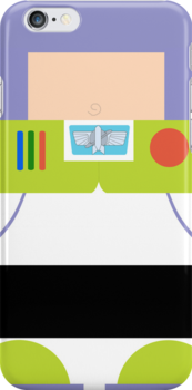 Buzz Lightyear Case by redastherose