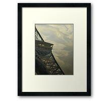 Eiffel Tower -View from Champ de Mars Framed Print