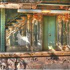 beverley rd station by Kodachrome 25 ASA
