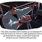 Stuntman Mike by Douglas Holgate