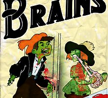 Ahhh!!! Brains by mikmcdade