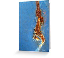 Rusty Stripe Greeting Card
