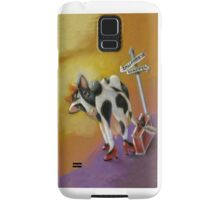 Where the Happy Cows Go, Iphone, by Alma Lee Samsung Galaxy Case/Skin