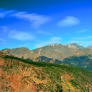 Mountain Top Color by Kathleen Struckle