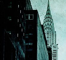 Vintage NYC Detail by Jeff Clark