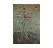 The Metal Flower Art Print