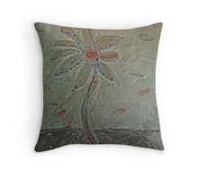 The Metal Flower Throw Pillow