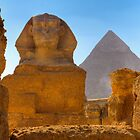 Egyptian Wonders Naturally Framed, Egypt by Clint Burkinshaw