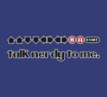 Talk Nerdy To Me - Konami Code by trekvix