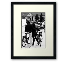 With love from Bode, sealed with a kiss ... Framed Print