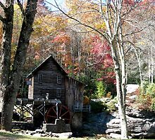 Glade Creek Grist Mill by Fred Moskey