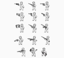 Pipboy Sticker Sheet! by Phatcat