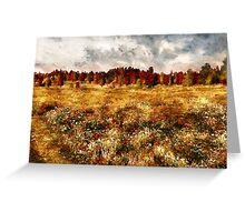 Prairie in a Dream Greeting Card