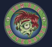 Zombie U Alumni Shirt by Kyle Gentry