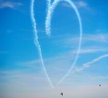 Air show, Bournemouth. by Emma Turner