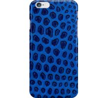 Blue texture iPhone Case/Skin