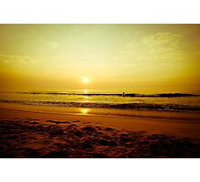 Surfer in the beach Photographic Print