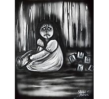 Girl In The Little White Nightgown Series 1- Alone Photographic Print