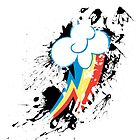 Rainbow Dash Splatter Mark by pixel-pie-pro