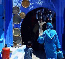 The Blue City II by Damienne Bingham