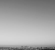 Los Angeles (B&W) by Gabriel Gastelum