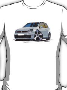 VW Golf (Mk6) GTi Silver T-Shirt