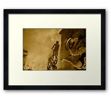 After the Rain in Manila Framed Print