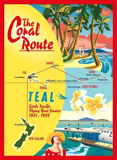 The Coral Route  by contourcreative