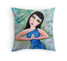 To grow love garden with Gratitude Throw Pillow