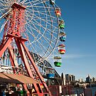 The Luna Park Ferris Wheel Sydney by DaveMay