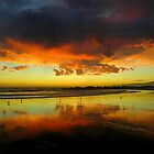 Reflected Sunset by Henry Murray