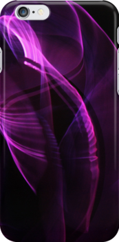 Iphone Case: Purple Abstract by Doty