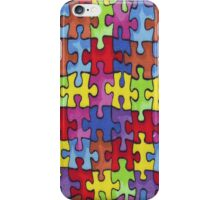 Autism Cure Puzzle iPhone Case/Skin