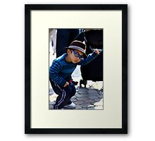 Move over, Michael! Framed Print