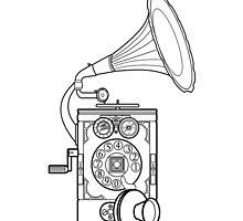 Mobile Gramaophone by Malkman