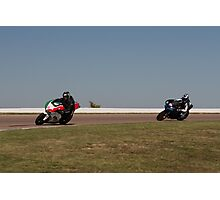 Ducati and Buell Photographic Print