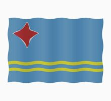 Aruba flag by stuwdamdorp