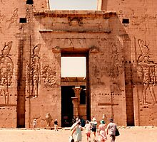 Edfu Temple of Horus by machka