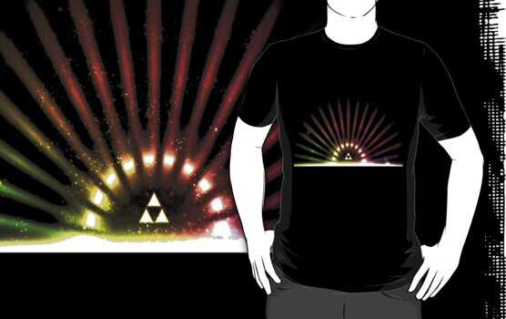 Rainbow Triforce by tieflores